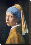Girl with Pearl Earring Tableau sur toile par Jan Vermeer