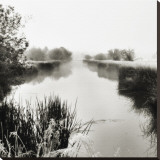 Foggy Deschutes River