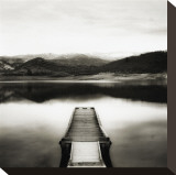 Emigrant Lake Dock II in Black and White