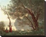 Paysage (Souvenir de Mortefontaine)  1796-1875