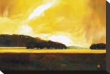 Yellow Storm at the Lake