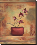 Red Orchid in Vase