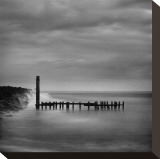 Jetty in Black and White