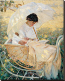 Young Mother in the Garden