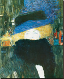 Lady with Hat and Feather Boa  c1909