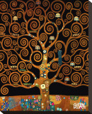 Under the Tree of Life Tableau sur toile par Gustav Klimt