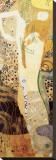 Water Serpents, c.1904-07 Tableau sur toile par Gustav Klimt