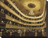The Auditorium of the Old Castle Theatre  Vienna