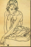 Woman Crouching  1918