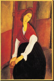 Jeanne Hebuterne with Red Shawl