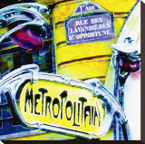 Antique Metro Sign  Paris