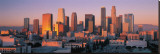 Downtown Los Angeles Skyline I Tableau sur toile