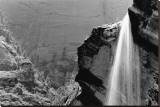 Waterfall  Zion National Park  Utah
