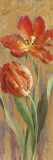 Parrot Tulips on Gold II
