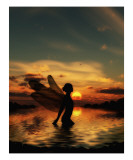 Fairy at Sunset