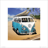 VW Camper Beach