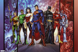 DC Comics Justice League  the new 52 Poster Print