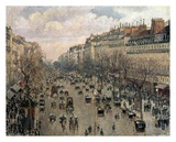 Boulevard Montmartre  Afternoon Sun  1897