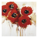 Crimson Poppies II