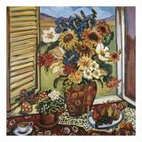 Sunflowers At Window