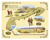 Golf Course Map  St Andrews