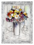 Bordered Bouquet I