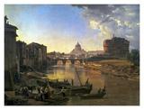 New Rome  Castel Sant'Angelo  1823