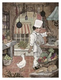 Chef with Goose