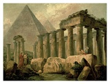 Pyramid and Temples