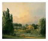 Italian Tempietto in a Park