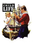 Finishing Touches - Child Life  July 1946