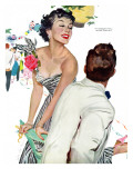 I Want A Man  - Saturday Evening Post &quot;Leading Ladies&quot;  April 15  1950 pg40