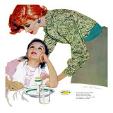 "I Love You  Mama Girl  A - Saturday Evening Post ""Leading Ladies""  March 31  1956 pg23"