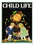 Fall Harvest - Child Life  October 1928