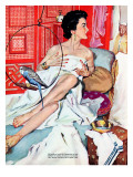 "The Strange Woman  - Saturday Evening Post ""Leading Ladies""  October 17  1953 pg24"