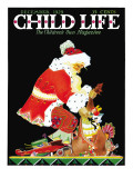 Santa&#39;s Bag - Child Life  December 1929