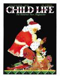 Santa's Bag - Child Life  December 1929