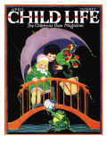 Rainy Day - Child Life  April 1925