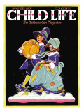 Off to a Feast - Child Life  November 1931