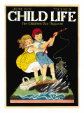 What a Catch - Child Life  June 1931