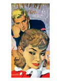 """The Deep Frozen Bachelor - Saturday Evening Post """"Leading Ladies""""  August 13  1960 pg24"""