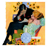 Love Dies Slowly - Saturday Evening Post &quot;Men at the Top&quot;  March 2  1957 pg27