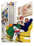 "My Sister's Mistake - Saturday Evening Post ""Men at the Top""  February 16  1957 pg34"