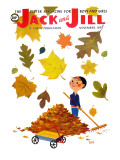 Rakeing Leaves - Jack and Jill  November 1957