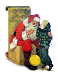 Secret for Santa - Jack and Jill  December 1954