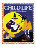 Witches Flight - Child Life  October 1935