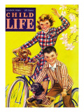 Spring Bike Ride - Child Life  March 1946