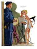 "Picture Racket - Saturday Evening Post ""Leading Ladies""  April 28  1956 pg28"