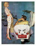 The Casanova Car - Saturday Evening Post &quot;Leading Ladies&quot;  September 5  1959 pg34