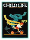 Riding Into the New Year - Child Life  January 1931